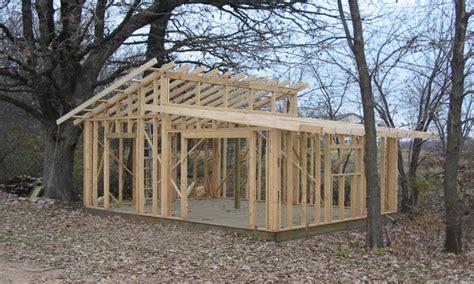 slant roof shed framing  shed roof design plans shed