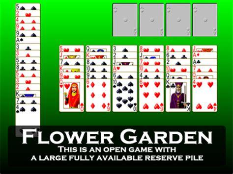 Flower Garden Solitaire Play Flower Garden Solitaire