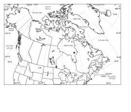 pics photos blank canada map quiz