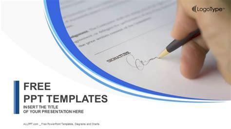 doc powerpoint templates signing a document powerpoint templates