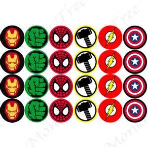 superhero logo edible cupcake images the monkey tree