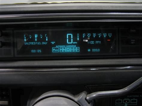 Car Dashboard Types by Buick Lesabre T Type Automobiles Digital Dashboards Of