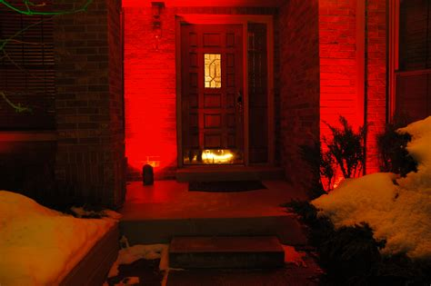 Colored Landscape Lights Color Lens Covers For Your Landscape Lighting Fixtures Make Decorating A Snap