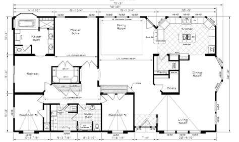 triple wide manufactured homes floor plans best of marlette homes floor plans new home plans design