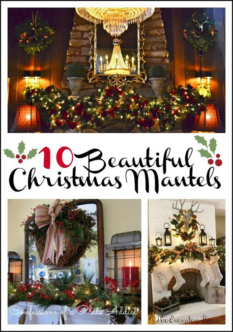 lucky colors christmas decor 10 ways to decorate a mantel for