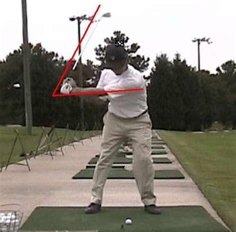 golf swing right shoulder downswing herman downswing lag