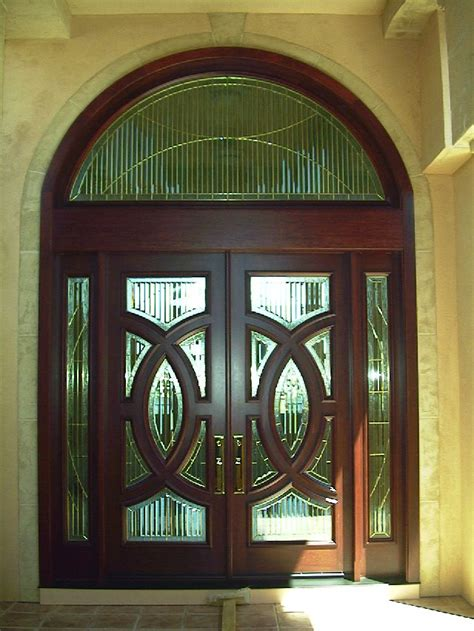 Unique Front Doors For Homes Decolux Doors Architectural Wood Products Custom Exterior Doors