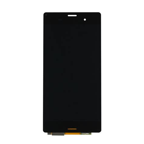 Lcd Sony Xperia Z3 sony xperia z3 black lcd touch screen digitizer assembly