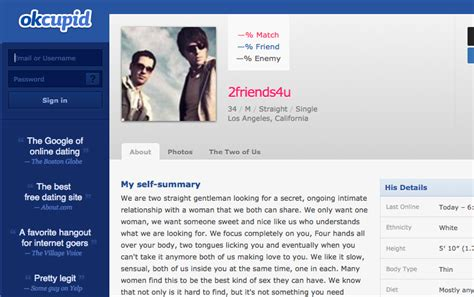 Breakup Technique Perfected By Top Relationship Bloggers Okcupid Profile Template