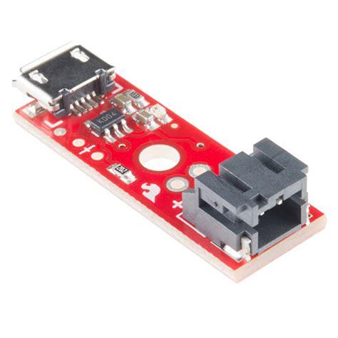 Sparkfun Usb Lipoly Charger sparkfun lipo charger basic micro usb prt 10217 sparkfun electronics