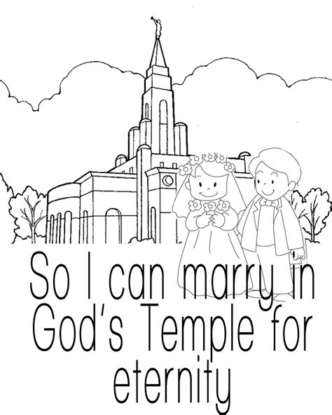 lds coloring pages families can be together forever arizona forever teaching quot families can be together forever quot