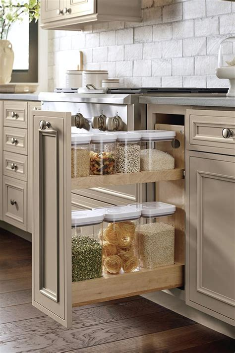 Kitchen Cabinet Interior Organizers Base Container Organizer Pull Out Cabinet Decora