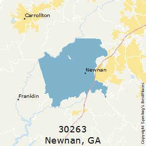 best places to live in newnan zip 30263