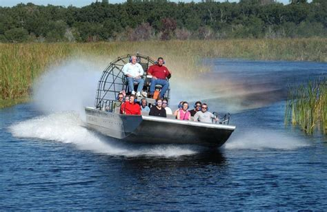 boat rides in florida reviews of kid friendly attraction boggy creek airboat