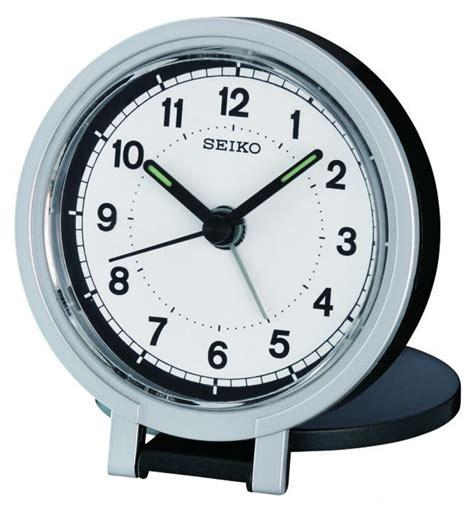 seiko travel alarm clock qht011k ebay