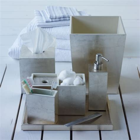 west elm bathroom accessories lacquer bath accessories silver west elm
