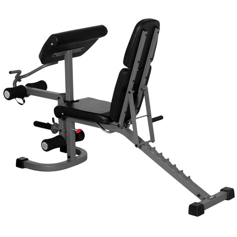 incline bench curls xmark fitness flat incline decline bench with arm curl