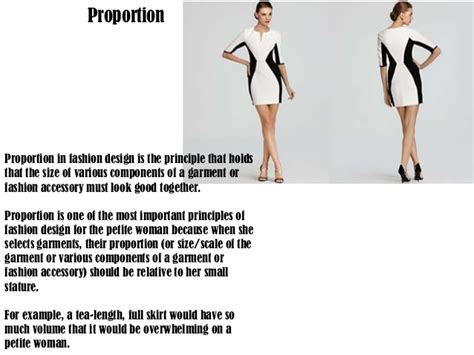 fashion design brief description principlas of design in fashion