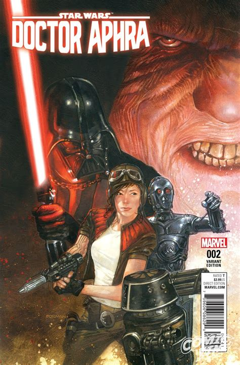 marvel launches doctor aphra into her own star wars comic exclusive star wars doctor aphra 2 variants revealed comic vine