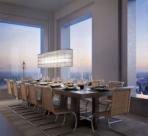 Dining Rooms In Nyc by What It S Like To Live In A 95 Million Penthouse 1 396