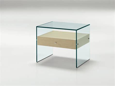 glas nachttisch nachttisch aus glas secret by t d tonelli design