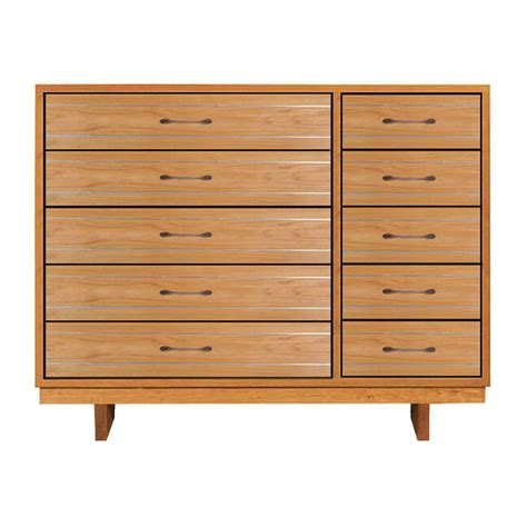 10 drawer dresser modern 10 drawer contemporary dressers natural hardwoods us