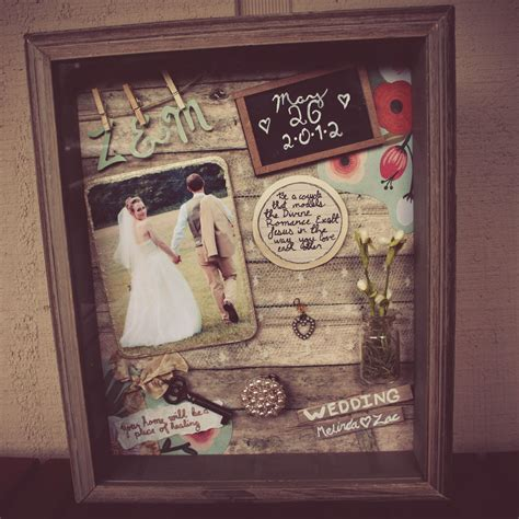 Wedding Shadow Box Ideas by Jenn Ljubicich On