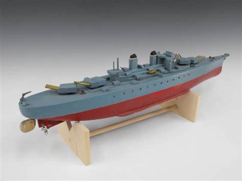 pt boat wood model ito japanese wood model battery op pt boat lot 71