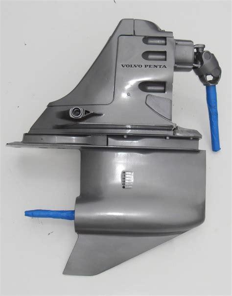 remaned volvo penta sx  single prop sterndrive outdrive unit ebay