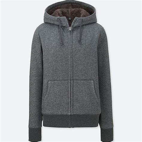 Uniqlo Oversized Hooded Sweat Jacket fleece lined zip hoodie uniqlo us