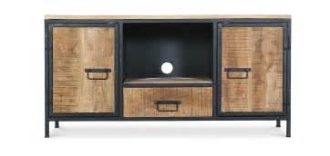 meuble tv onawa en m 233 tal style industriel vintage pas cher