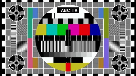 Test Pattern Abc | hi fi writer motion adaptive deinterlacing