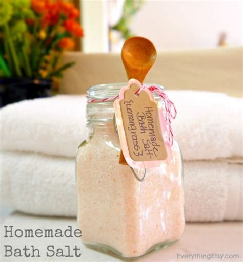 Handmade Bath Salts - feddycake diy guifts guide day 14