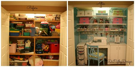 Sewing Closet by Diy By Design Craft Sewing Closet Reveal