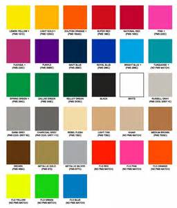 color chart heat transfer ink colors color chart swatches