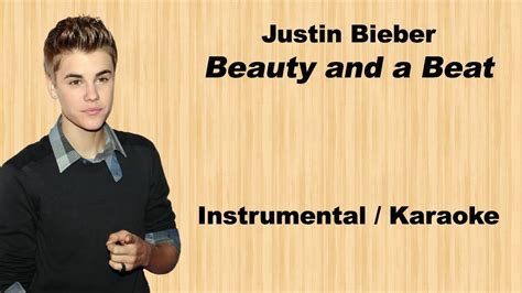 justin bieber beauty and a beat klaviernoten justin bieber beauty and a beat rock instrumental