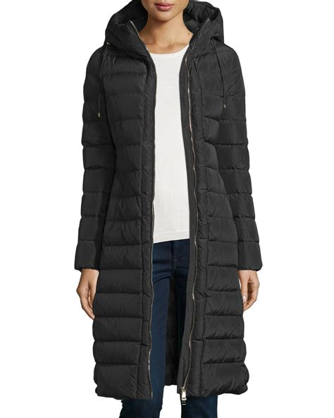 Moncler Quilted Puffer Jacket by Moncler Imin Quilted Puffer Coat In Black Lyst