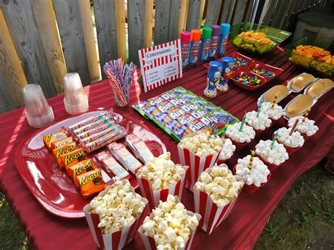 concession stand backyard drive  birthday party www