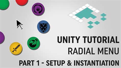 tutorial unity menu unity tutorial radial menu part 1 from board to bits