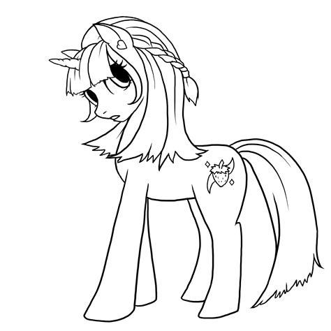 my pony drawing template my pony drawing template