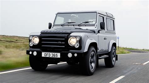 land rover overfinch road test land rover defender overfinch 2dr top gear