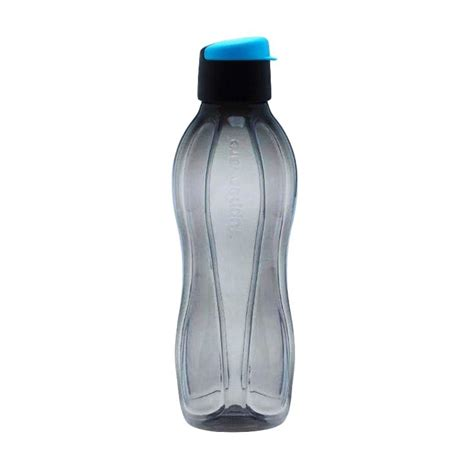 Botol Air Tupperware 750ml jual tupperware eco botol minum hitam 750ml