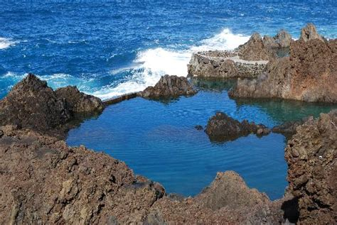 Rock Pools of Porto Moniz   Picture of Royal Savoy Hotel