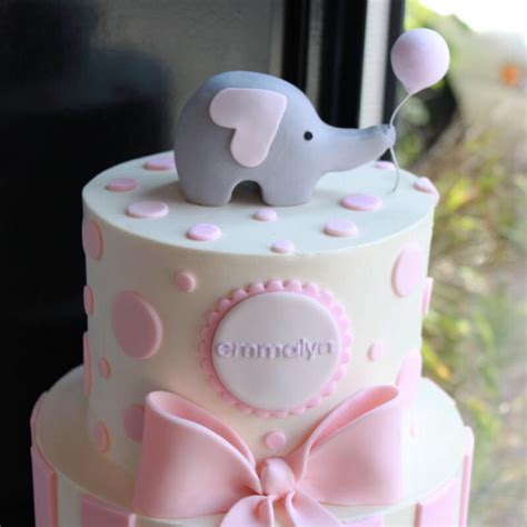 Baby Shower Cakes With Elephants by Elephant Baby Shower Cake For Babies