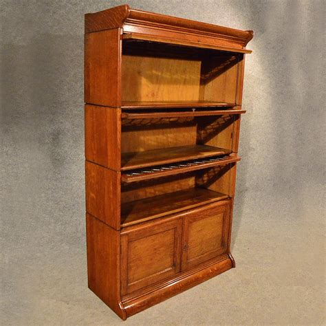antique oak bookshelves antique oak bookcase gunn globe wernicke barrister
