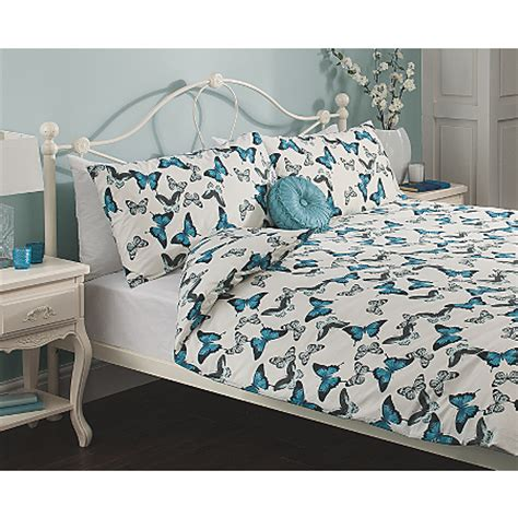 George Home Heirloom Butterfly Duvet Set Bedding Asda Asda Bed Sets