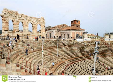 arena verona seating plan arena di verona verona italy editorial photo image