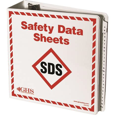 printable msds binder cover sheet ghs safety data sheets sds binder gempler s