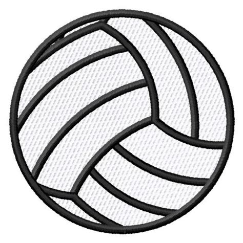 printable volleyball pattern volleyball embroidery designs machine embroidery designs