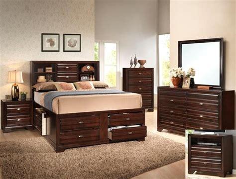 Brown Bedroom Suite stella storage captain bed 6 bedroom suite in rich